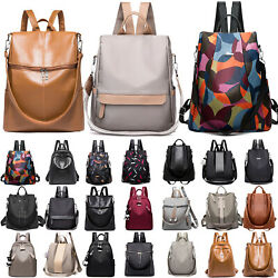 Women Waterproof Anti-Theft Rucksack School Backpack Travel Casual Shoulder Bags