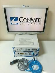 ConMed Linvatec HD Smart OR IM4000 Camera System Light Source & Monitor 1080p