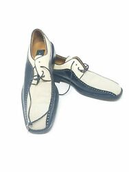 AVVENTURA Foot Wear Two Tone Black amp; White Dress Shoes Mens Size 7.5 M