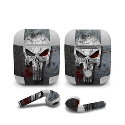 Skin Decal Protective Cover Wrap for Apple AirPods AirPod sticker Skull