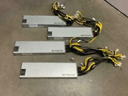 LOT OF 4 X BITMAIN AP3 1600W POWER SUPPLY FOR ANTMINER S5 S7 S9 CRYPTO CURRENCY C $299.95