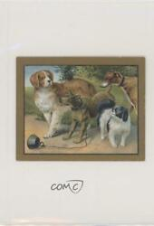 1910 Turkish Trophies Fable Series Tobacco T57 The Mischevous Dog Card jn1