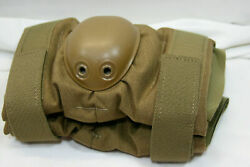 US Military Elbow Pads Coyote Brown Large *NEW* $11.90