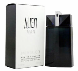 ALIEN MAN for Men by Thierry Mugler EDT Refillable Spray 3.4 oz - New in Box