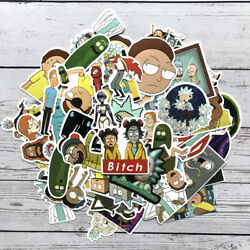 12 Different Rick And Morty Vinyl Stickers Randomly Selected $3.75