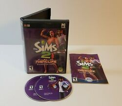 Sims 2 Nightlife PC CD-Rom 2005 Windows expansion pack add-on
