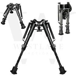 6quot; to 9quot; Carbon Fiber Adjustable Spring Return Hunting Rifle Bipod $22.95