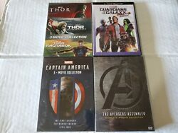 Marvel Movie DVD Boxset Bundle Avengers Captain America Guardians Ant Man Thor