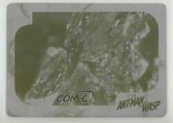 2018 Upper Deck Ant-Man & The Wasp Printing Plate Yellow 11 #25 5l3 $35.04