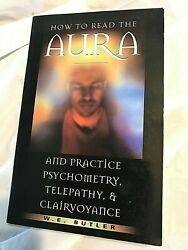 W.E. Butler HOW TO READ THE AURA 1998 First Edition 8th Printing  Paperback