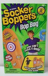 Big Time Toys Socker Bopper Power Bag Standing Inflatable Punching Bag NEW