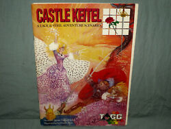Australian Games Group LACE & STEEL -  CASTLE KEITEL  (ULTRA RARE with CARDS!!)
