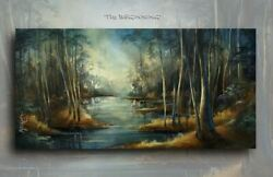 Landscape Art Giclee canvas print PAINTING Contemporary DECOR Mix.Lang $239.00