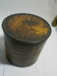 Antique 1800s Wooden Shaker Pantry Round Spice Container?  Box  4