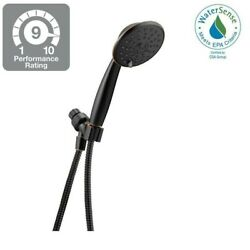 Delta 3-Spray Watersense Handheld Shower In Spot Resistant Oil Rubbed Bronze NEW