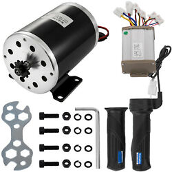 1000W 48V Electric Motor Kit w/ Base Speed Control & Thumb Throttle for Scooter $76.95