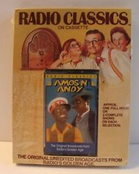 Radio Classics Amos N Andy Cassette New Sealed Radio Broadcast Old Time and