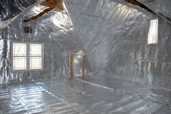 600sqft Radiant Barrier Solar Attic Foil Reflective NASA Insulation 4x150 perf $98.88