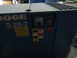 Boge S-29-2 30hp. Rotary Screw Air compressor (warranty) low hours Wdryer $5,290.00