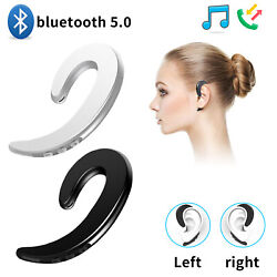 Ear Bluetooth Bone Conduction Headphones Stereo Wireless Earphone 5.0 Headset US
