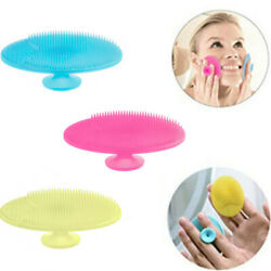 3X Silicone Wash Pad Face Exfoliating Blackhead Facial Cleansing Brush Beauty  $7.99