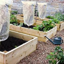 Agfabric 3D Cube Frost Protection Greenhouse Plant Cover for Fruit Tree/Shrub $9.99