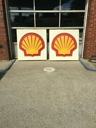 Shell Signs Letters Canopy Lighting and Illuminated Sign Frame
