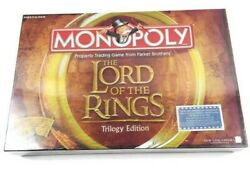 Monopoly The Lord of the Rings Trilogy Edition 2003 New Sealed