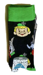 New THE JETSONS Mens Novelty Socks BIOWORLD BRAND WITH ELROY amp; ASTRO Size 10 13 $6.99