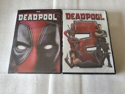 Deadpool 1 and 2 DVD Brand New Free Shipping USA Movie Bundle!