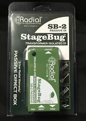 Radial Engineering StageBug SB-2 Passive Direct Box - Full Manufacturer's Wty