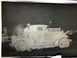 13 Antique Vintage Photo Negatives 1920-1940 Old Cars People Baby Houses Wagon