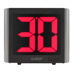 919 1614 La Crosse Technology Digital LED Commercial Timer with 12#x27; Power Cord