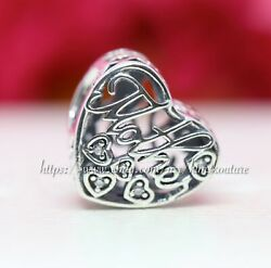 Authentic Pandora Silver Mother and Son CZ Bond Charm 792109CZ MOTHER'S DAY