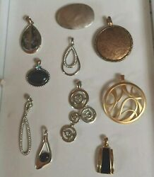 Lot Of 10 Lia Sophia & Premier Designs Necklace Pendants - Retired High Quality
