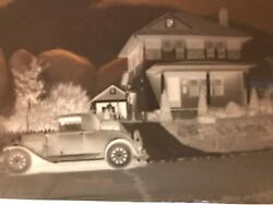 15 Antique Photo Negatives Old Car Farms Houses Cows Dog People 1920-1930 Ohio