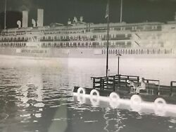 15 Antique Photo Negatives 1930's City of Cleveland III Ship Byrd's South Pole