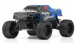 1 16 2.4Ghz Exceed RC ThunderFire Nitro Gas Powered RTR Off Road Truck Sava Blue $208.65