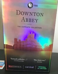 Downton Abbey - The Complete Collection (DVD Set 2016) Used (Free Shipping)