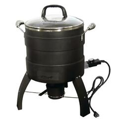 Electric Turkey Fryer and Roaster Oil-Free with Thermostat Temperature Control