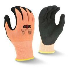Radians RWG559 AXIS™ Cut Protection Level A6 Sandy Nitrile Coated Glove $4.64