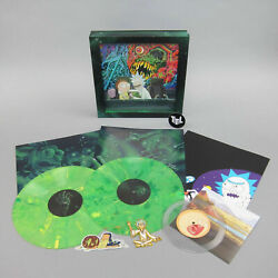 Rick And Morty Soundtrack Vinyl Record LP Limited Edition Exclusive Box Set