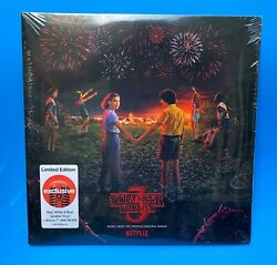"Stranger Things 3 Soundtrack LP + 7"" Never Ending Story - Target Exclusive Vinyl"
