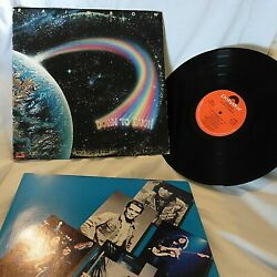 RAINBOW DOWN TO EARTH LP POLYDOR PD-1-6221 wInner Pic Slve. Vinyl EXEX- Read