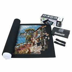 Jigsaw Puzzle Roll Up Mat Jigroll Up to 1500 Pieces with Drawstring Storage Bag