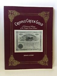 Book 1988 Cripple Creek Gold Colorado Signed by quot;Brain Levinequot; $59.99