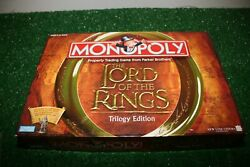 Lord Of The Rings Monopoly Trilogy Edition Board Game lotr