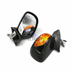 Rear View Mirror Turn Signal With LED Fit For Honda Goldwing GL1800 2001-2012 02