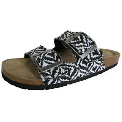 Billabong Womens Beach Dunes Dual Strap Buckled Slip On Sandal Shoes $11.80