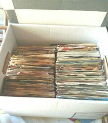 Record Lot of 280 45s All types Country Pop Soul Mix (Heavier on the Soul)